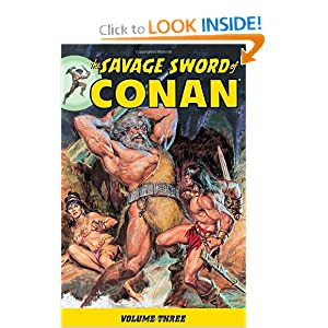 The Savage Sword of Conan Volume 3 (v. 3) by Roy Thomas