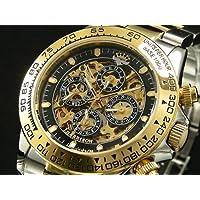 ジョンハリソン JHARRISON 腕時計 メンズ 自動巻き フルスケルトン JH003-GB