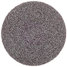 "3M Roloc Disc 361F, Cloth, TR Attachment, Aluminum Oxide, 3"" Diameter, 80 Grit (Pack of 50)"