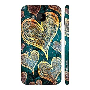 Enthopia Designer Hardshell Case Love Is In The Air Back Cover for HTC One M9