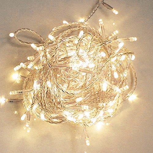 Led Lichterkette Weihnachten.200 Leds 22m Led Lichterkette Weihnachten Party Lichterkette Au En