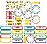 Eureka Telling Time Bulletin Board Sets (847423)