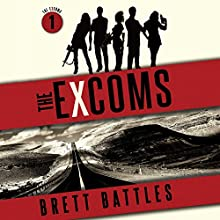 The Excoms Audiobook by Brett Battles Narrated by Allyson Johnson