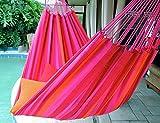 Pink Dreams - Fine Cotton King Size Hammock, Made in Brazil