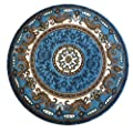 Traditional Area Rug Design Kingdom D 123 Blue