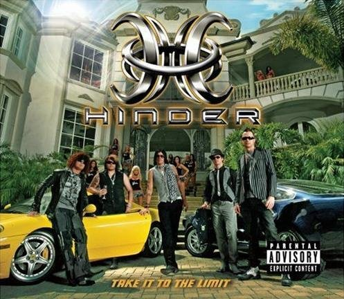 Take It to the Limit Ultimate Edition (+6 Bonus Tracks) (CD DVD) by Hinder