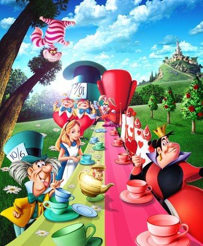 Alice In Wonderland foto forza di un film posters 40x 30cm
