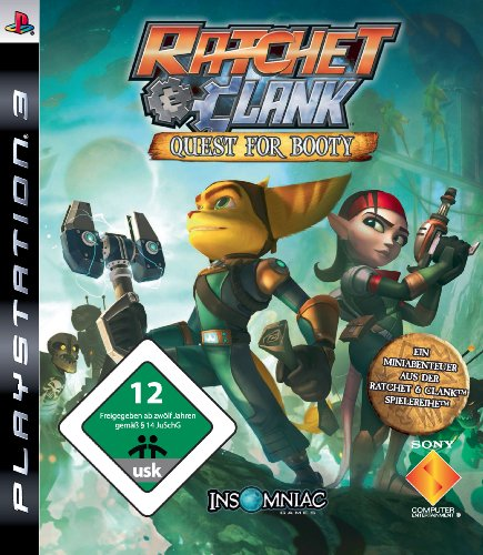 RATCHET & CLANK - QUEST FOR BOOTY [IMPORT ALLEMAND] [JEU PS3]