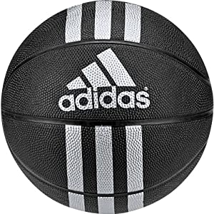 Amazon.com: adidas Performance 3-Stripes Rubber Basketball: Sports & Outdoors