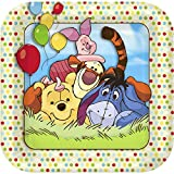 Disney Pooh and Pals Square-Shaped Dessert Plates (8)