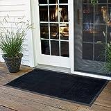 "Rubber Brush Floor Mat (16"" x 24"")"