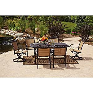 Better homes and gardens paxton place 7 piece for Outdoor furniture amazon