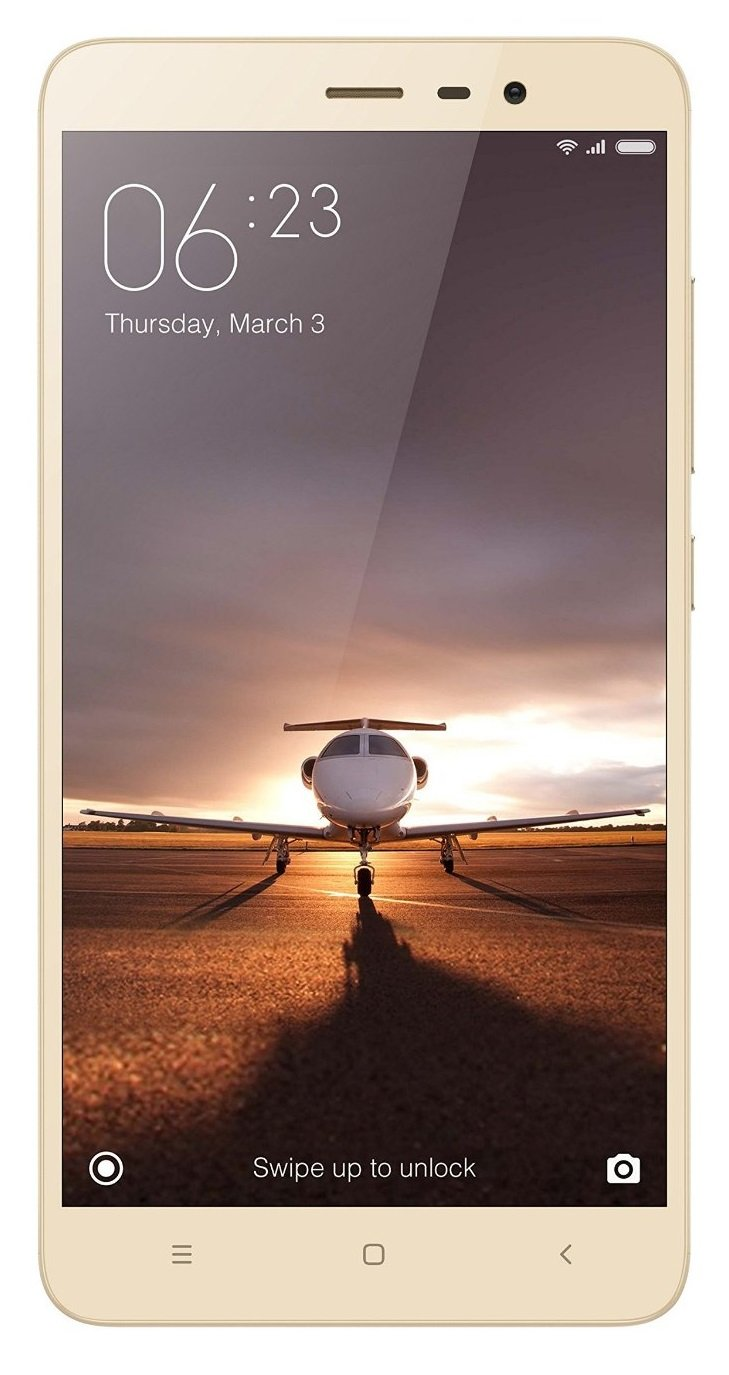 Xiaomi Redmi Note 3 (Gold, 32GB) By Amazon @ Rs.11,999