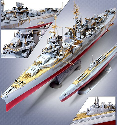1/350 USS Indianapolis CA-35 & Submarine IJN I-58 W/Kaiten Premium Edition 14113 (1 35 Submarine compare prices)