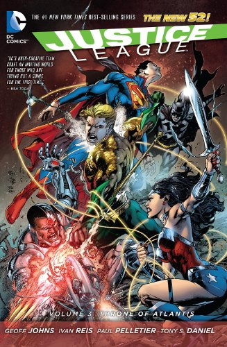 Justice League, Vol. 3: Throne of Atlantis (The New 52)
