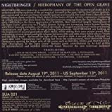 echange, troc Nightbringer - Hierophany of the open grave