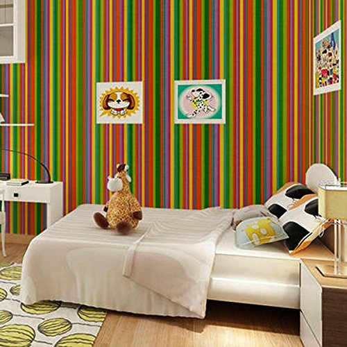 bluelover-waterproof-stripe-wallpaper-self-adhesive-wardrobe-door-kitchen-wall-stickers-rainbow-stri