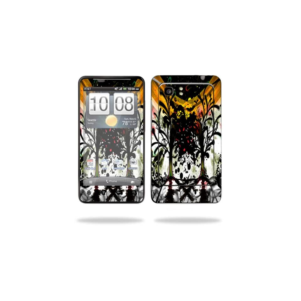 Protective Vinyl Skin Decal Cover for HTC Vivid 4G PH39100 B AT&T Cell Phone Sticker Skins Tree of Life Cell Phones & Accessories