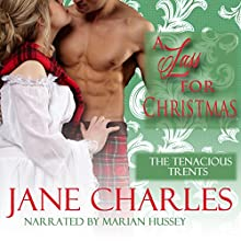 A Lass for Christmas: Tenacious Trents, Book 3 (       UNABRIDGED) by Jane Charles Narrated by Marian Hussey