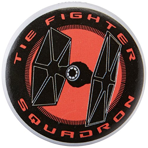 "C&D Visionary Star Wars Tie Fighter Squadron 1.25"" Button (6-Piece) - 1"