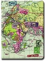 Wild and Wolf Map Passport Holder