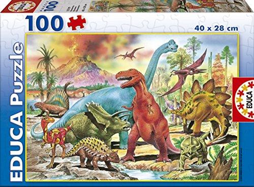 Educa Dinosaurs Jigsaw Puzzle (100 Piece)