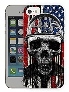 "Humor Gang The Screw Soldier Printed Designer Mobile Back Cover For ""Apple Iphone 5C"" (3D, Matte, Premium Quality Snap On Case)"