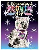 Sequin Art 3D, Cat, Sparkling Arts and Crafts Kit