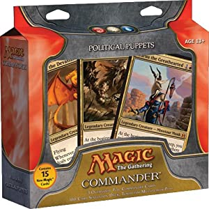 Magic Gathering Commander Deck Counterpunch