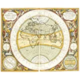 Map of The World, Hemi Orbis Anti Nis Circvpvlorum (Print On Demand)