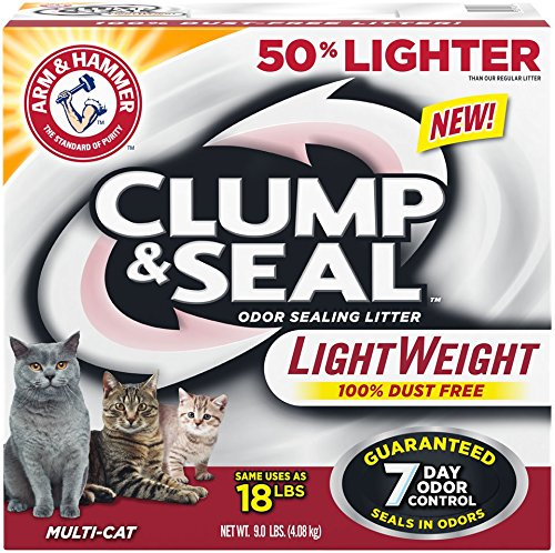 Arm Hammer Clump Seal Lightweight Litter Multi Cat 0033200941873