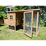 COCOON CHICKEN COOP HEN HOUSE POULTRY ARK NEST BOX NEW - NOW WITH REAR VENT HOLES AND SECURE NEST BOX FLOOR - ONLY SOLD BY SELLER 'COCOON' ON AMAZONby Cocoon