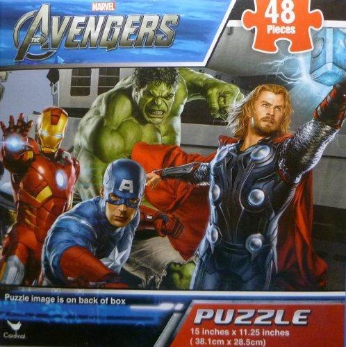 Marvel Avengers 48 Pc Puzzle - 1