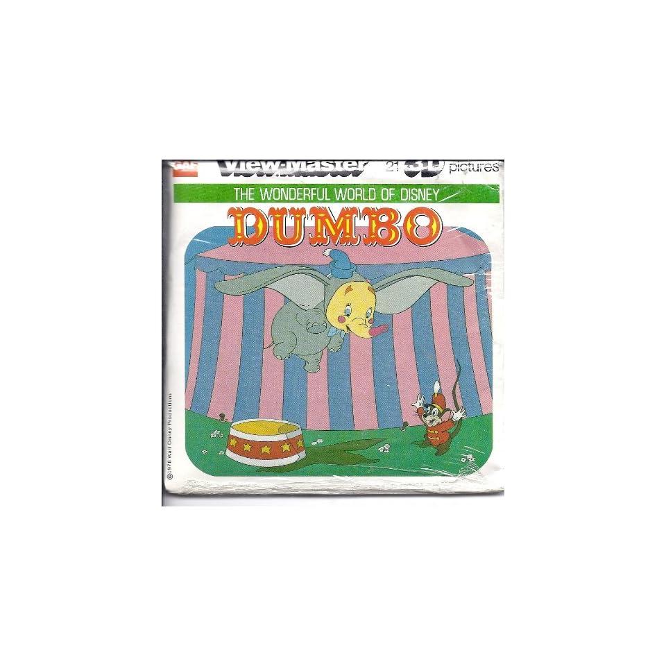 Disneys Dumbo 3D View Master 3 Reel Set   Made in USA