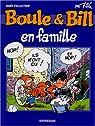 Boule et Bill - Hors Série : Boule et Bill en famille