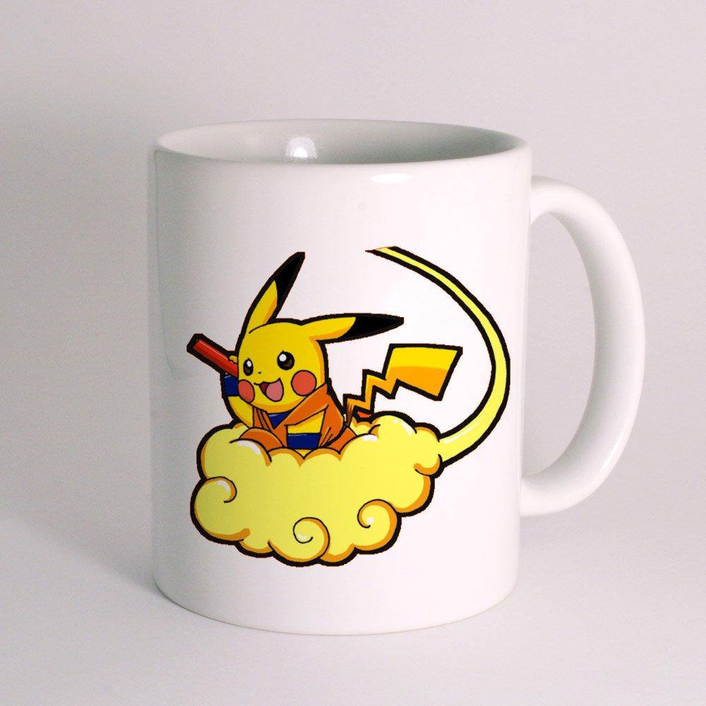 Pikachu Pokemon Dragon Ball Mug White Mug 10oz термокружка emsa travel mug 360 мл 513351