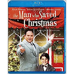 The Man Who Saved Christmas Blu-ray by Echo Bridge Home Entertainment