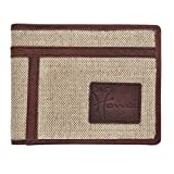 Hawai Canvas Hunter Leather Wallet for Men