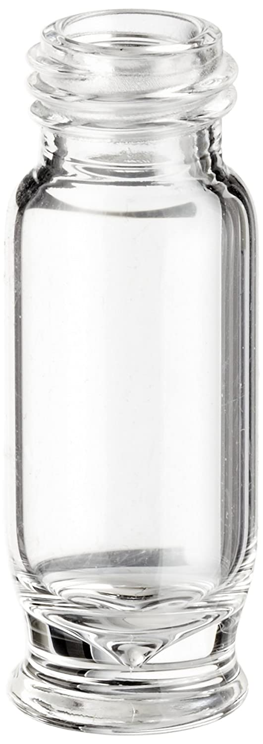 Sun Sri Clear Glass Screw Thread SunSpot Vials, 1.5ml Capacity, 9mm, 12x32 (Pack of 100) 10pcs 1ml 13 24mm small empty clear glass bottles vials with cork storage crafts y207e hot sale