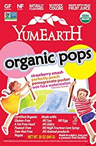YumEarth Organic Fruit Lollipops, 30…