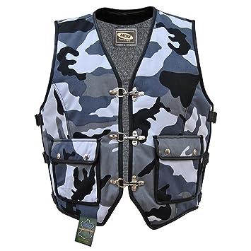 Veste gilet en textile Biker Camouflage (3XL)