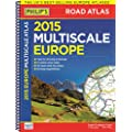 Philip's Multiscale Europe 2015: Spiral A3 (Road Atlas Europe)