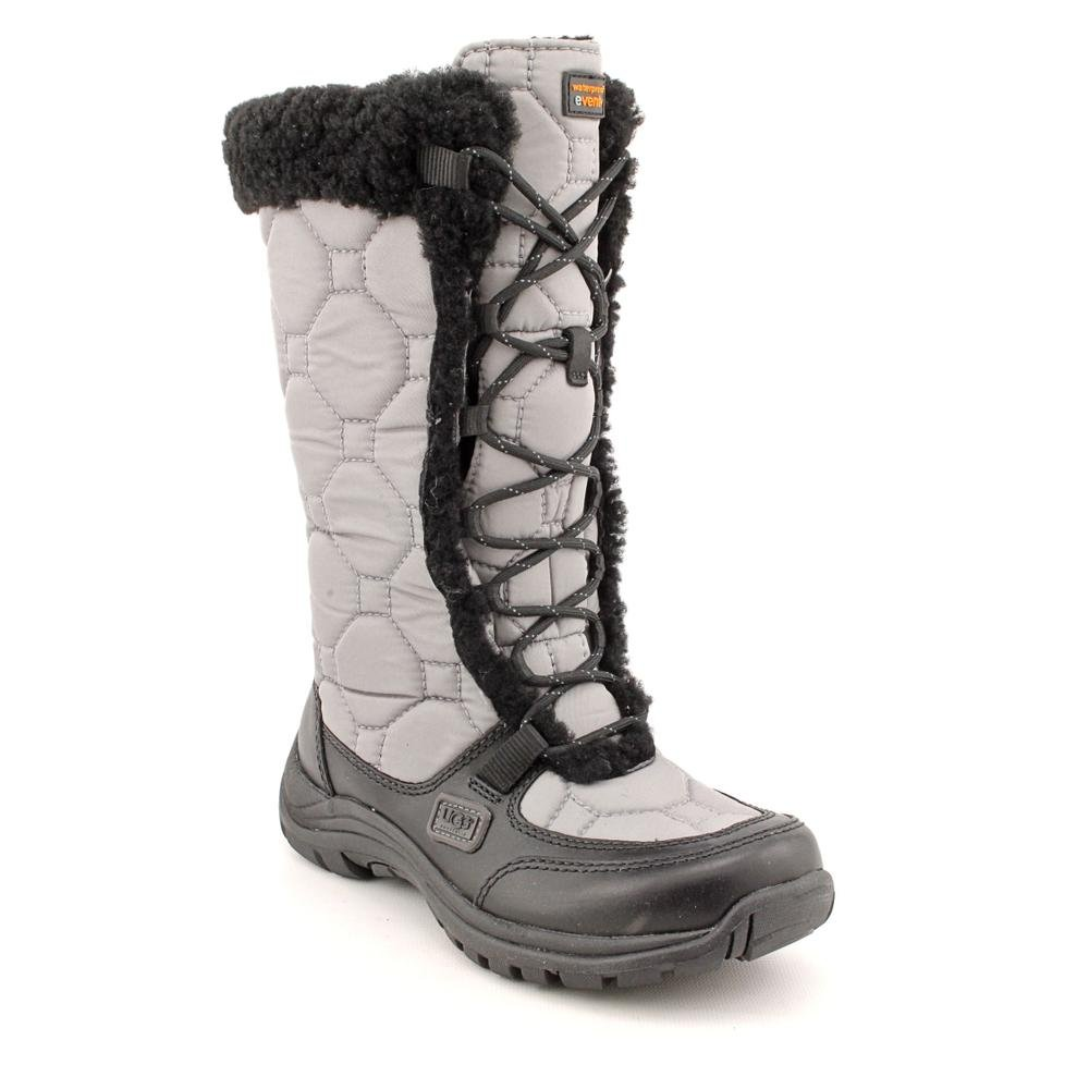 Ugg Australia Capstone Womens Size 7 Gray Textile Winter Boots UK 5.5 EU 38