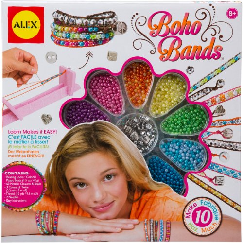 ALEX Toys Do-it-Yourself Wear Boho Bands Kit and Weaving Loom - 1