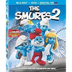 The Smurfs 2 (Two Disc Combo: Blu-ray / DVD + UltraViolet Digital Copy)