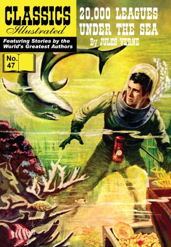 Jules Verne - 20,000 Leagues Under the Sea (with panel zoom) - Classics Illustrated