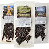 Bayou Blend Cajun Style Gourmet Beef Jerky - Premium Quality Lean Beef - High Protein Healthy Meat Snack - Choose From 3 Awesome Flavors - Satisfaction Guaranteed (Tester Pack 4.5 Oz)