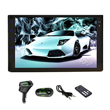 Best Seller HD 17,8 cm Pure Android 4.2 Tablette voiture Radio stéréo double DIN universel en voiture Dash none-dvd Lecteur MP3 GPS Navigation Support Radio AM/FM stéréo Bluetooth 3 G WiFi Airplay DVR AV-IN