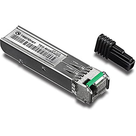 TRENDnet TEG-MGBS40D5 Module LC monomode à double longueur d'onde SFP 1000 Mbps Argent