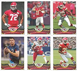 Kansas City Chiefs 2013 Topps Complete Regular Issue 12 Card Team Set with Alex... by Strictly Mint Card Co.